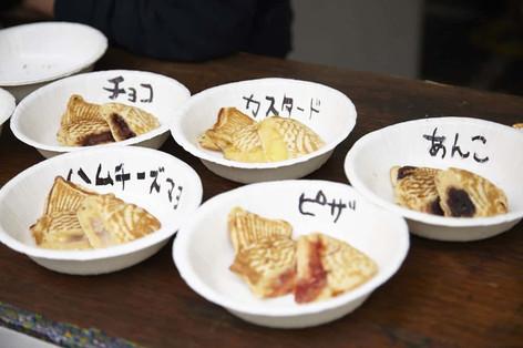 大学祭/5種類のたい焼き