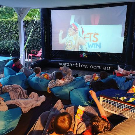 Kids party cinema hire melbourne