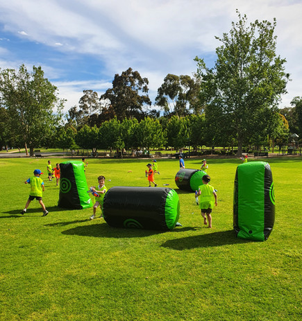 Nerf party and bunkers Melbourne