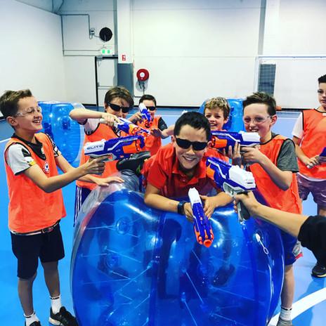 Nerf Battles & Zorb Soccer Melbourne