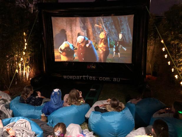 Backyard cinema experience melbourne