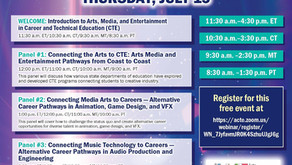 ACTE Arts, Media, and Entertainment from Coast to Coast Event