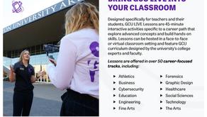Updated GCU Live Lessons