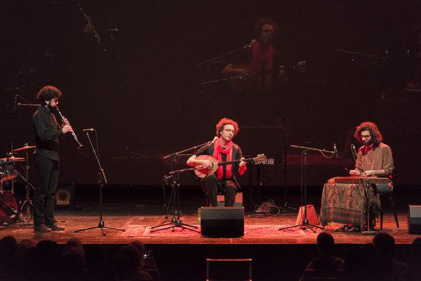 Akzent Theater - Salah Ammo trio