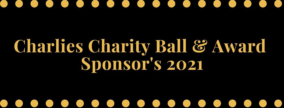 Charlies Charity Ball & Awards Sponsor's