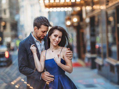 Engagement photo session of Jeanette and Karl || Boston engagement photographer