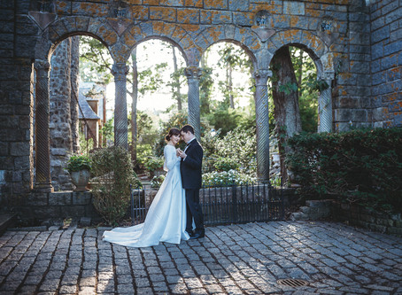 Hammond Castle elopement || Boston wedding photographer