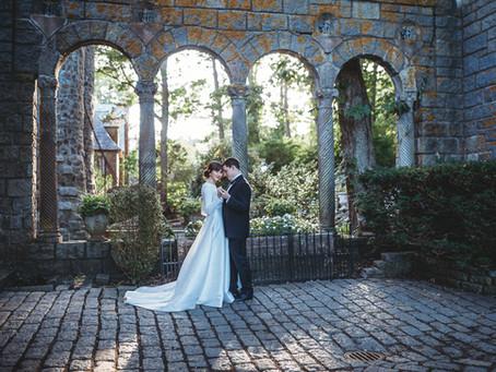 Hammond Castle elopement || Boston wedding photographer