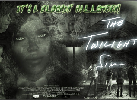 "Our New Film: ""The Twilight Sim: It's a Bloomin' Halloween!"""