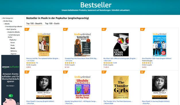 Germany 2020 - Best Seller Popular Music