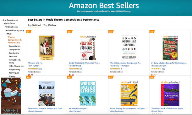 USA - Best Seller Music Theory, Composition & Performance