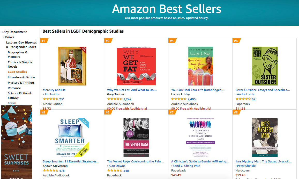 USA - Best Seller LGBT Demographic Studies