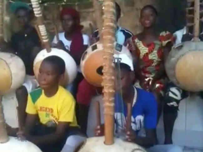 Gambia kora music lessons