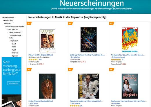 Germany June 2020 - Neuerscheinungen in der Popkultur (englischsprachig)