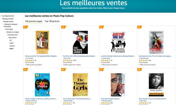 Frances 2020 - Les meilleures ventes en Music Pop Culture