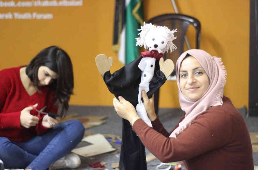 Palestinian performers