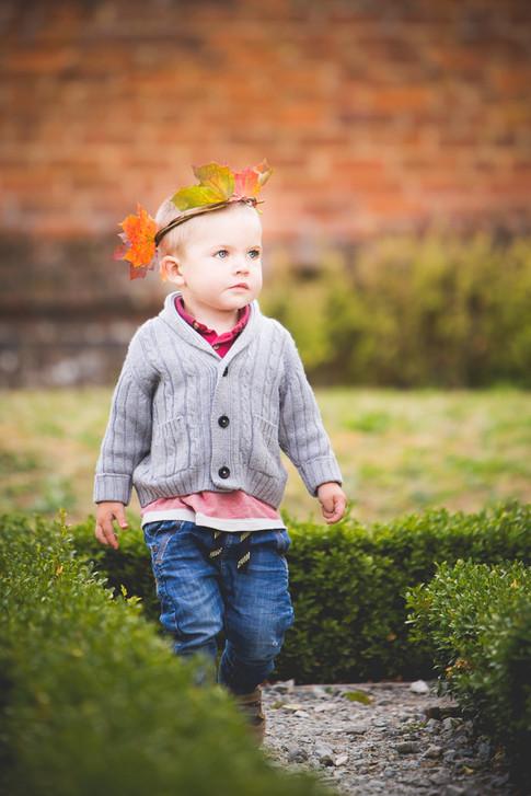 Childrens photography autumn