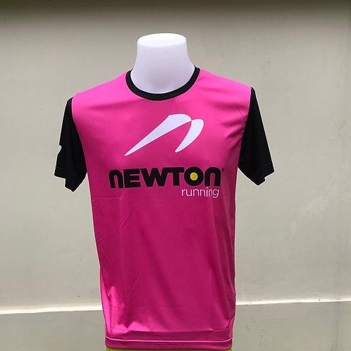 เสื้อยืด Newton running (สีชมพู)