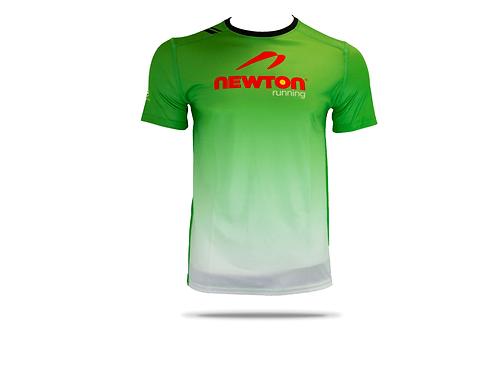 เสื้อยืด Newton running (สีเขียว)