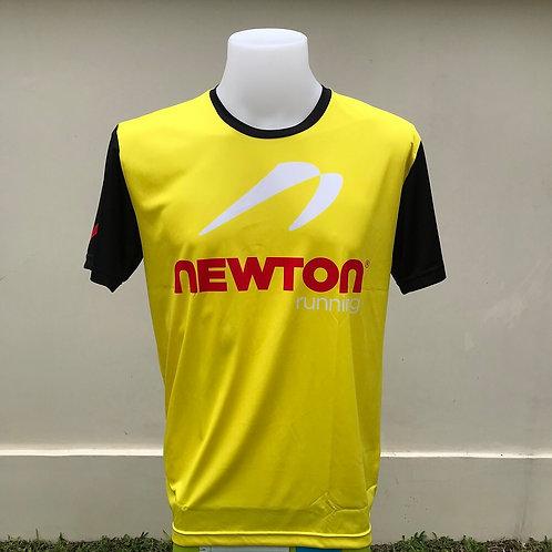 เสื้อยืด Newton running (สีเหลือง)