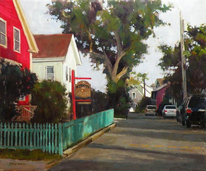 Pearl Street Shadows by Robert Thoren