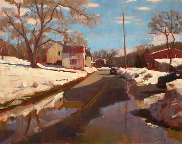 Entering Delaplane by Robert Thoren