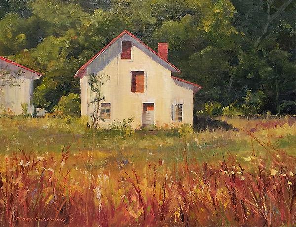 The Small Barn at Selma by Mary Champion