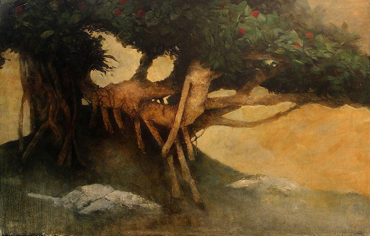 Bonsai Banyan Tree by Web Bryant