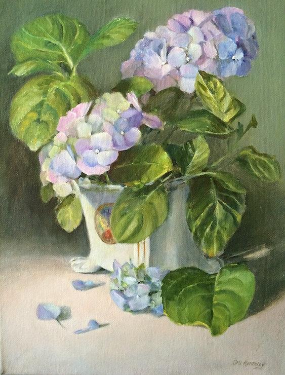 Hydrangea by Dell Keathley