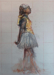 Study of the Little Dancer by Web Bryant