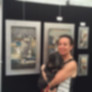 Laurie Fields exhibit in Alexandria, VA