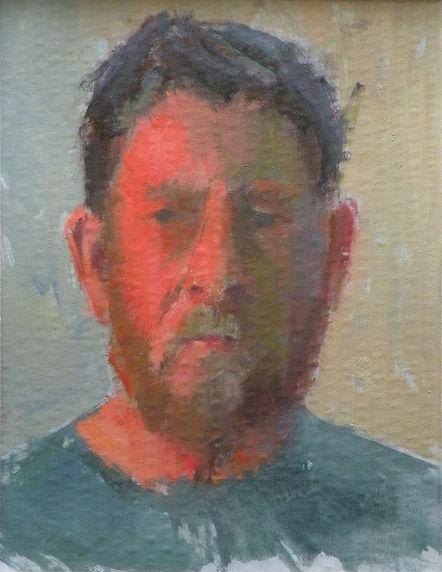 Self Portrait by Robert Thoren