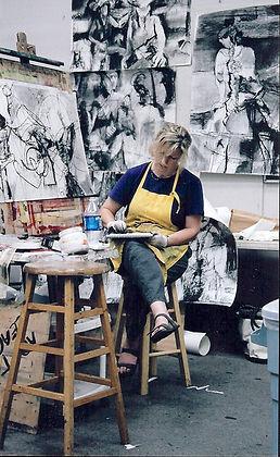 Michele Hoben in studio