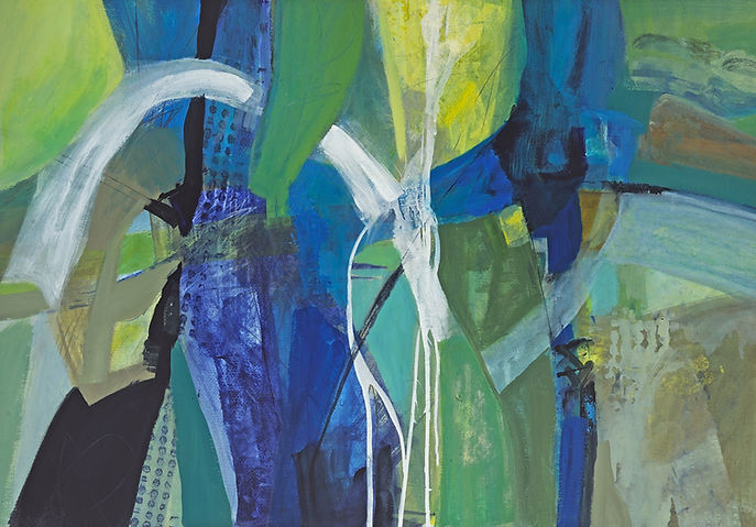 Blue Wins by Michele Hoben