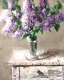 Summer Lilacs by Becky Parrish