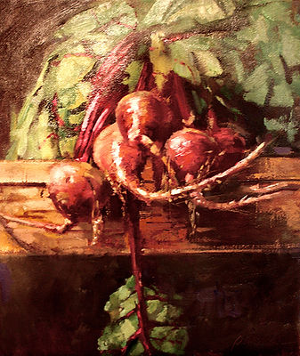 Hanging Beets by Becky Parrish