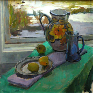 Still Life with Lemon by Robert Thoren