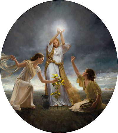Faith, Hope, and Charity by Jonathan Linton