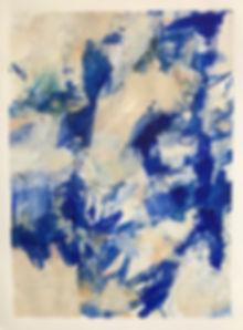 Burst of Blue by Elaine Elinsky