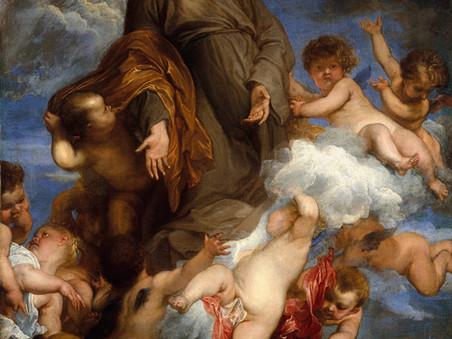 Van Dyck's Painting During a Plague