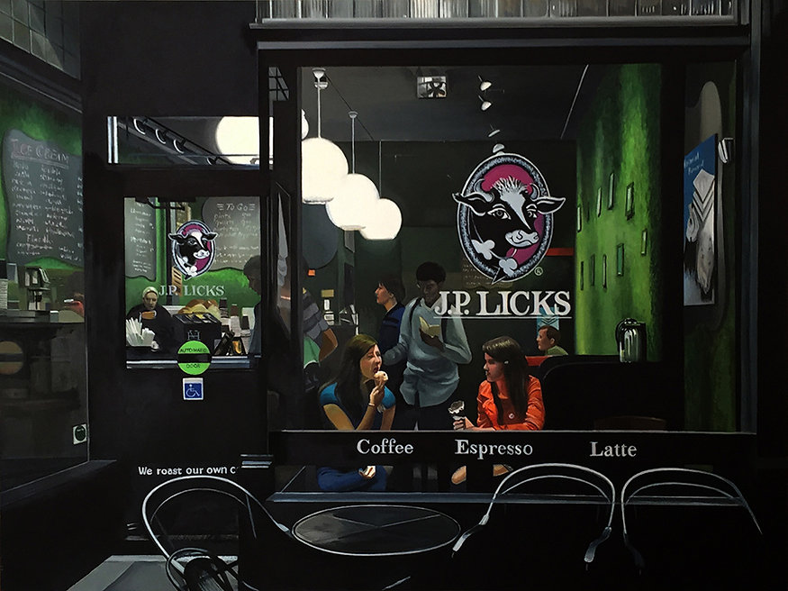 J. P. Licks by Susan La Mont