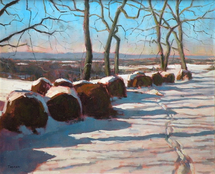 Winter Shadows by Robert Thoren
