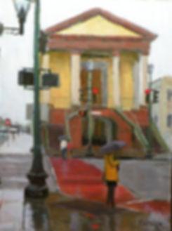 A Rainy Day in Charleston by Robert Thoren