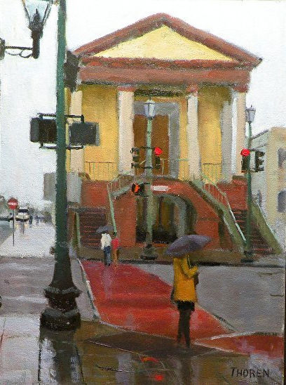 A Rainy Day in Charleston by Robert Thoren
