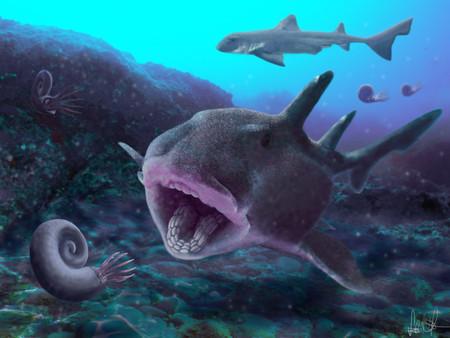 A jura ősi tengereiben zúzott a cápa