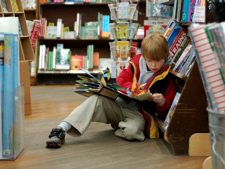 How to Take Your Child to the Bookstore: Part One