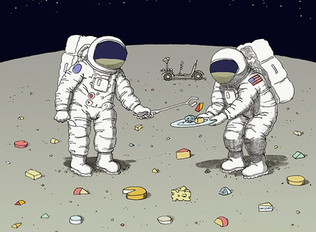 Cosmic Weekly: Buzz Aldrin and a Lot of Cheese
