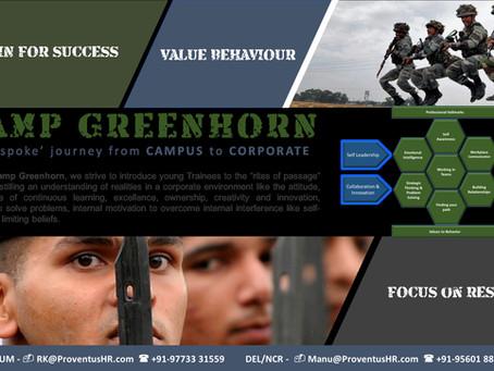'Camp Greenhorn' - Campus to Corporate