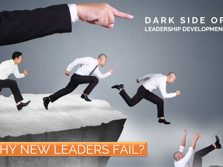 DESTINED TO BREAK - 40% of new leaders fail within the first 18 months