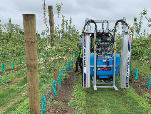 Smart Sprayer saves time and costs